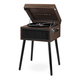 Victrola Liberty Bluetooth Record Player Stand with 3-Speed Turntable (Espresso)