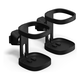 Sonos Pair of Wall Mounts for Sonos One (Black)