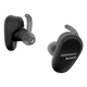 Sony WFSP800N/B Truly Wireless Earbud Headphones with Noise Cancelling (Black)