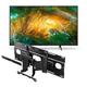 Sony XBR-65X800H 65 BRAVIA 4K Ultra HD HDR Smart TV with SU-WL855 Ultra Slim Swivel TV Mount