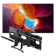 Sony XBR-65X950H 65 BRAVIA 4K Ultra HD HDR Smart TV with SU-WL855 Ultra Slim Swivel TV Mount