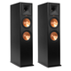 Klipsch RP-280F Reference Premiere Floorstanding Speaker with Dual 8 inch Cerametallic Cone Woofers - Pair (Ebony)