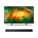 Sony XBR-65X800H 65 BRAVIA 4K Ultra HD HDR Smart TV with HT-ST5000 7.1.2ch 800W Dolby Atmos Sound Bar