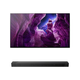 Sony XBR55A8H 55 BRAVIA OLED 4K Smart TV with HDR with HT-ST5000 7.1.2ch 800W Dolby Atmos Sound Bar