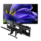 Sony XBR-77A9G 77 BRAVIA OLED 4K UHD Smart TV with HDR with SU-WL855 Ultra Slim Swivel TV Mount