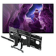 Sony XBR65A8H 65 BRAVIA OLED 4K Smart TV with HDR with SU-WL855 Ultra Slim Swivel TV Mount