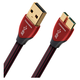 AudioQuest Cinnamon USB 3.0 A to Micro Audio Cable - 0.75 meters