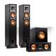 Klipsch Reference 3.1 Channel R-24F Floorstanding Speaker Bundle with 12