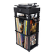 Andover Audio SpinStand Audio Component & Record Rack (Black)