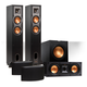 Klipsch Reference 5.1 Channel R-24F Surround Home Theater Speaker Bundle with 12