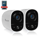 Toucan TWCK200WUTG-2 Wireless Outdoor Security Camera 2 Pack (White)