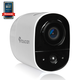 Toucan Wireless Outdoor Security Camera (White) - TWC200WU-TG