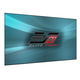 Elite Screens PFT110HD5 Pro Frame 110 Thin Projector Screen with CineGrey 5D Material