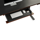 BDI Sequel 20 6159 Keyboard/Storage Drawer (Chocolate/Black)