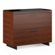 BDI Sequel 20 6116 Lateral File Cabinet (Chocolate/Black)