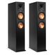 Klipsch RP-260F Reference Premiere Floorstanding Speaker with Dual 6.5 inch Cerametallic Cone Woofers - Pair (Ebony)