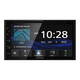 Kenwood DDX5707S Double Din DVD Car Stereo with Apple Carplay Android Auto, 6.8 Inch Touchscreen, Bluetooth, Backup Camera Input, Subwoofer Out, USB Port, A/V Input, FM/AM