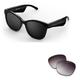 Bose Soprano Cat-Eye Bluetooth Audio Sunglass Frames with Replacement Lense (Purple Fade)