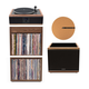 Andover Audio Model-One Turntable with 10 Subwoofer, Upper and Lower Stand and 12 Cork Turntable Slipmat