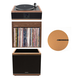 Andover Audio Model-One Turntable with 10 Subwoofer, Upper Stand and 12 Cork Turntable Slipmat
