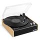 Victrola Eastwood 3-Speed Dual-Bluetooth Hybrid Turntable (Black/Bamboo)