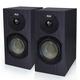 KLH Albany II 2-Way Bookshelf Speakers - Pair (Black Oak)
