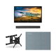 Furrion FDUP49CBR 49 4K Partial Sun Outdoor TV bundle with 2.1-Channel Soundbar, TV Mount, and Weatherproof TV Cover
