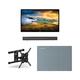 Furrion FDUP43CBR 43 4K Partial Sun Outdoor TV bundle with 2.1-Channel Soundbar, TV Mount, and Weatherproof TV Cover