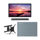 Furrion FDUF65CBR 65 4K Full Shade Outdoor TV bundle with 2.1-Channel Soundbar, TV Mount, and Weatherproof TV Cover