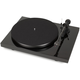 Pro-Ject Debut Carbon Phono USB Turntable With Ortofon OM10 Cartridge (Gloss Black)
