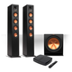Klipsch Reference Premiere HD Wireless 2.1 Floorstanding Speaker System with HD Control Center