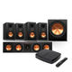 Klipsch Reference Premiere HD Wireless 5.1 Monitor Speaker System with HD Control Center