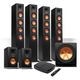 Klipsch Reference Premiere HD Wireless 6.1 Speaker System with HD Control Center
