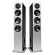 Definitive Technology Demand Series D17 High-Performance Floorstanding Speakers with Dual 10 Passive Bass Radiators - Pair (Black)