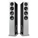 Definitive Technology Demand Series D15 High-Performance Floorstanding Speaker with Dual 8 Passive Bass Radiators - Pair (Black)