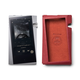 Astell & Kern SR25 Portable Music Player with Protective Case (Moon Silver/Red)