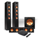 Klipsch Reference Premiere HD Wireless 3.1 Floorstanding Speaker System with HD Control Center