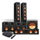 Klipsch Reference Premiere HD Wireless 7.1 Floorstanding and Monitor Speaker System with HD Control Center