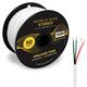 World Wide Stereo 14-Gauge, 4-Conductor Speaker Wire - 50 Feet