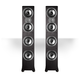 Polk Audio TSi500 High Performance Tower Speakers with Four 6-1/2 Drivers - Pair (Black)