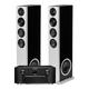 Marantz SR8015 11.2-Channel AV Receiver with Definitive Technology Demand Series D17 High-Performance Floorstanding Speakers - Pair