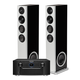 Marantz SR7015 9.2-Channel AV Receiver with Definitive Technology Demand Series D15 High-Performance Floorstanding Speakers