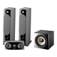 Focal Chora 3.1.2 Channel Dolby Atmos Home Theater System (Black)