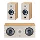 Focal Chora 3.0 Channel Home Theater Speaker Bundle (Light Wood)