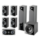 Focal Chora 7.1.2 Channel Dolby Atmos Home Theater System (Black)
