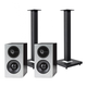 Definitive Technology Demand Series D9 High-Performance Bookshelf Speakers with Speaker Stands - Pair