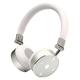 Cleer Audio BT Quality Bluetooth Wireless On-Ear Headphones (White)