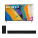 LG OLED55GXP 55 OLED Gallery 4K UHD HDR Smart TV with 3.1 Channel High-Res Audio Sound Bar GX