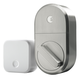 August Home Smart Lock with Connect Wi-Fi Bridge (Satin Nickel)