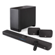 Polk Audio React Home Theater System with React Sound Bar, Wireless Subwoofer, and Wireless Surround Speakers